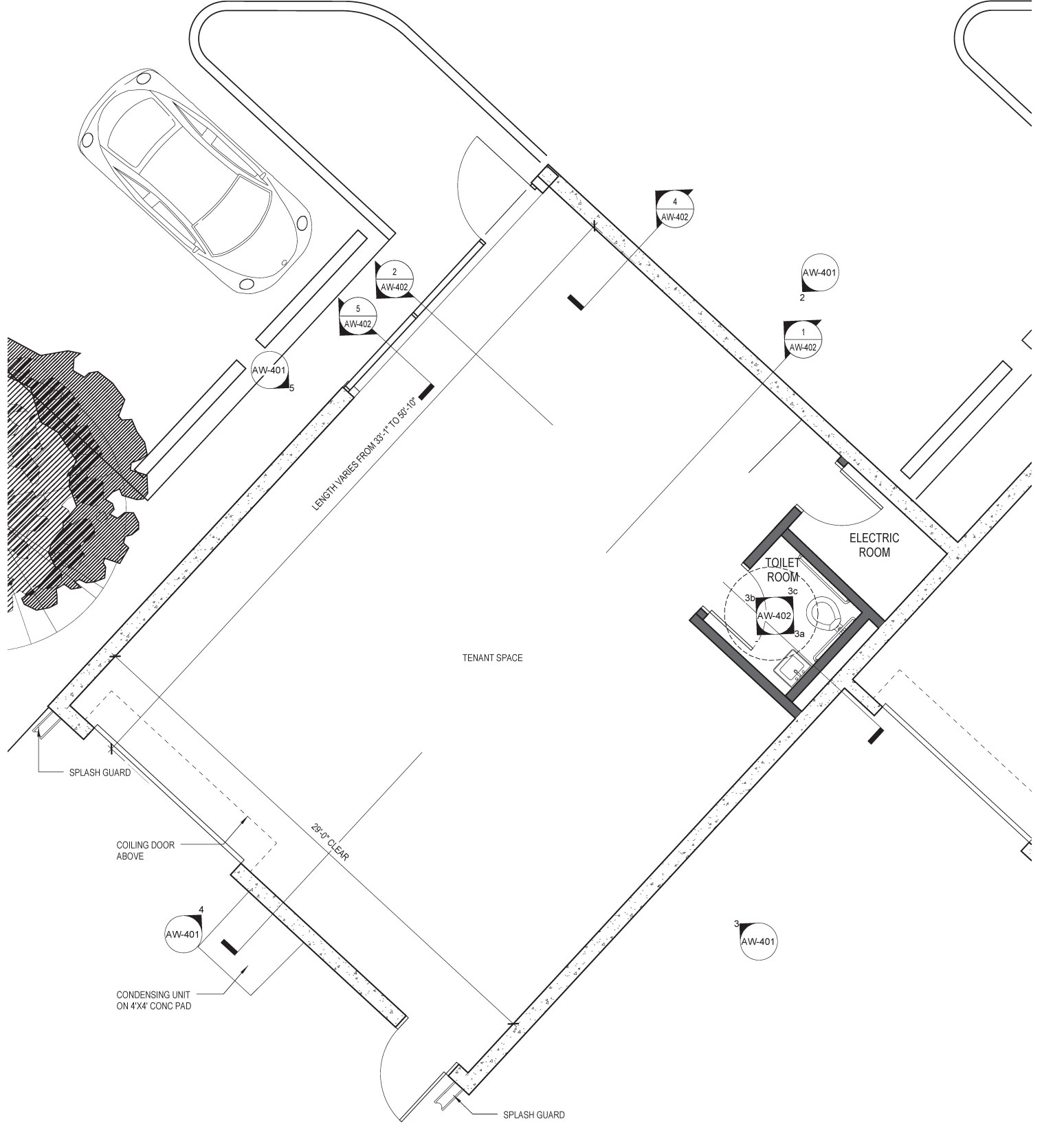 Floor plan warehouse d